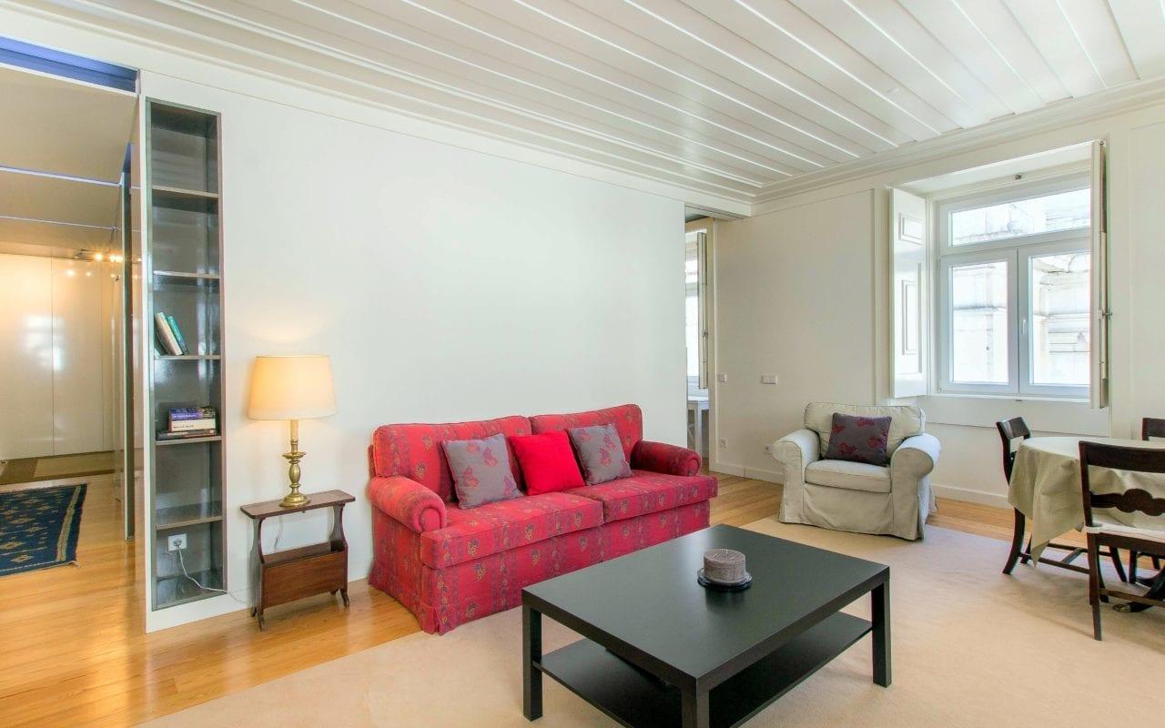 Garrett Lisbon Chiado Apartment Living Room 2