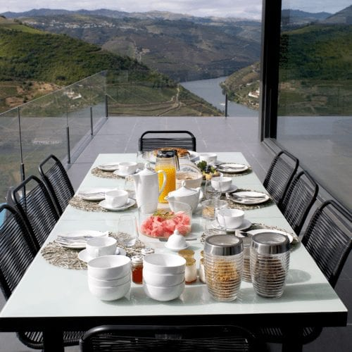 Santa Mafalda Dining Terrace