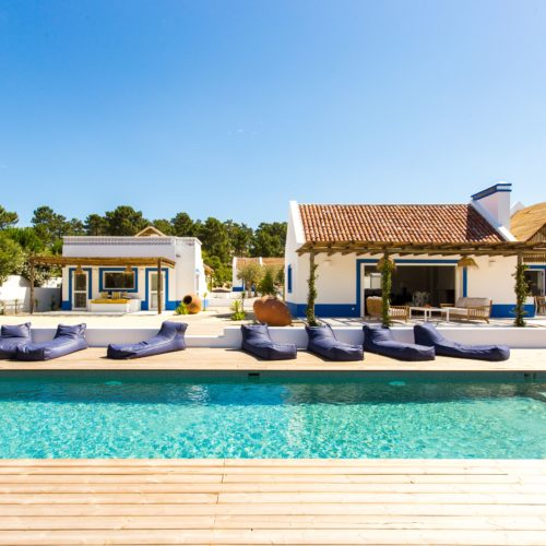 laid back beach villa