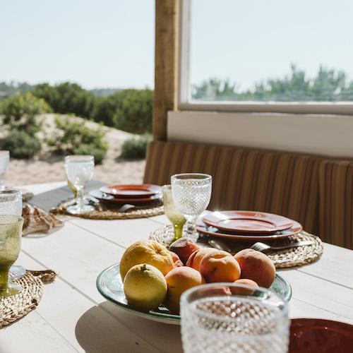 Casa da Baleia Covered Dining Terrace