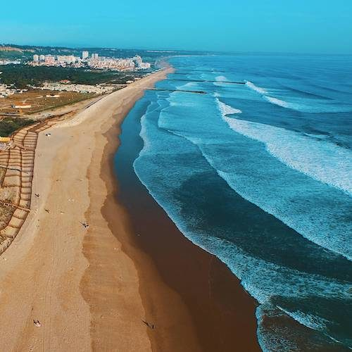 Lisbon Beaches Caparica